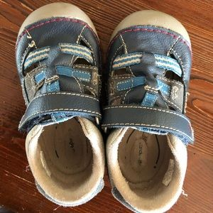 Stride Rite Size 6M sandals and flip flops